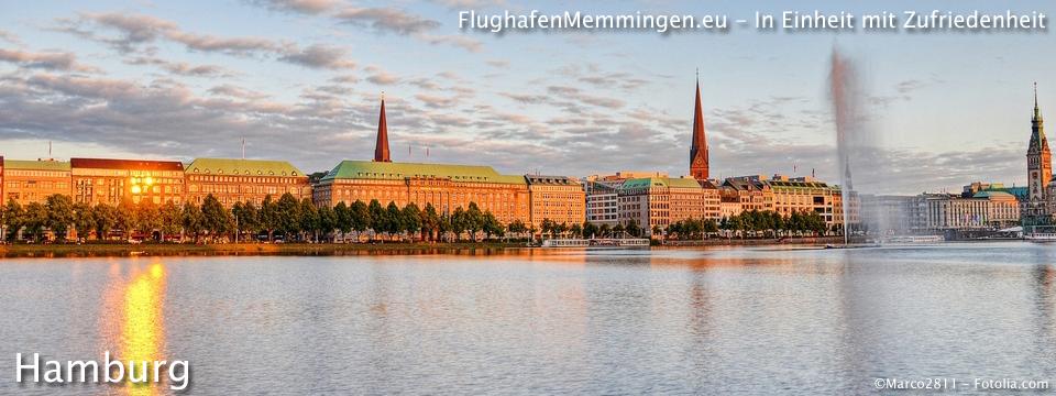 Nach Hamburg mit Abflug Memmingen