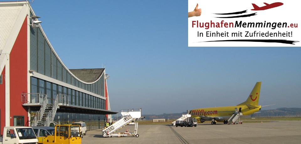 Terminal Flughafen Memmingen Rollfeld Südansicht