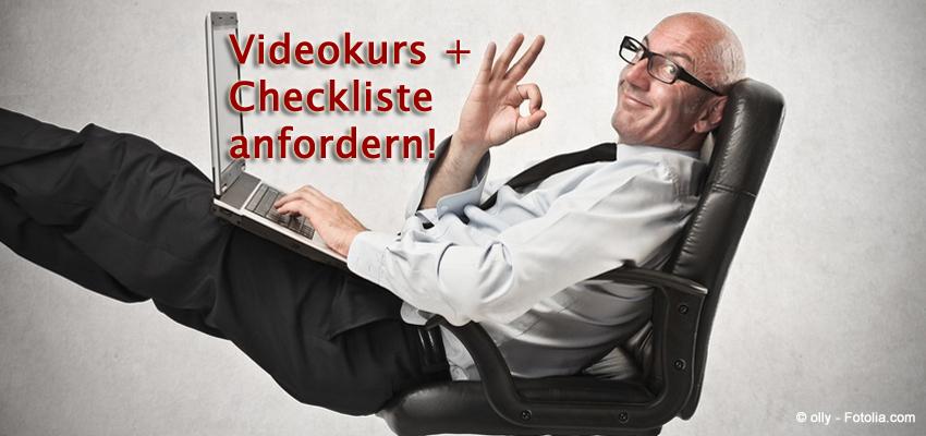 Videokurs & Checkliste Abflug Memmingen anfordern