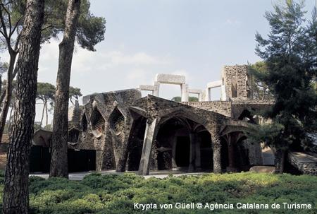 Krypta-von-Güell Barcelona