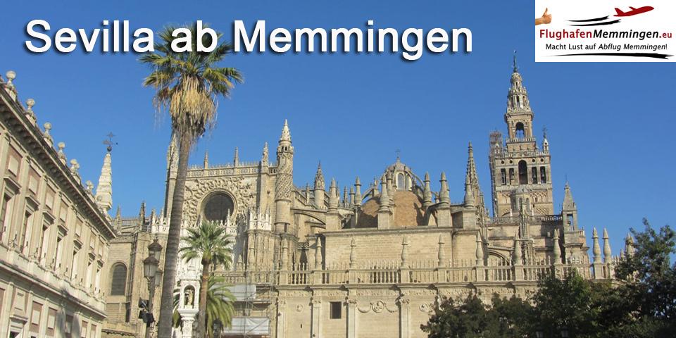 Sevilla ab Flughafen Memmingen buchen