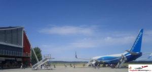 Ryanair am Flughafen Memmingen